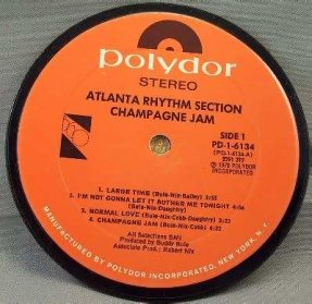 Atlanta Rhythm Section - Champagne Jam Coaster