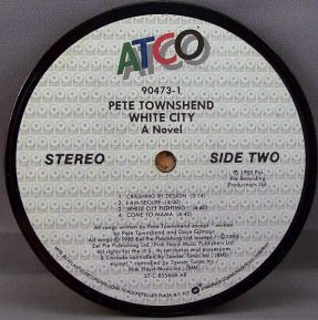 Townshend, Pete - White City Coaster