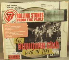 Rolling Stones - Marquee Club Live In 1971 CD & DVD