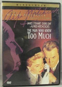 Alfred Hitchcock The Man Who Knew Too Much DVD