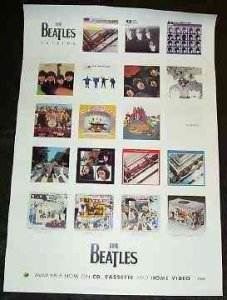 Beatles - Catalog Promo Rock Poster