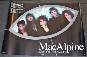 MacAlpine, Tony - Eyes Of The World 1990 Promo Poster