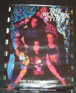 Wonder Stuff - Eight Legged Groove Machine Promo Poster