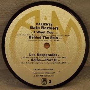 Barbieri, Gato - Caliente Coaster
