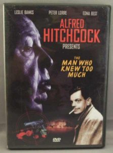 Man Who Knew Too Much Alfred Hitchcock DVD