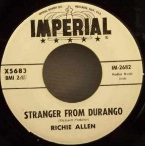 Allen, Richie - Redskin / Stranger From Durango Vinyl 45 7