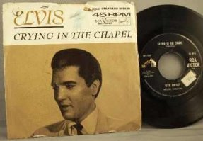 Presley, Elvis - Crying In The Chapel / I Believe In...45 W/PS
