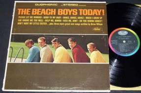 Beach Boys - Today Vinyl LP Duophonic