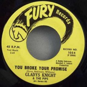 Knight, Gladys - You Broke Your Promise/Letter Full Of Tears 45