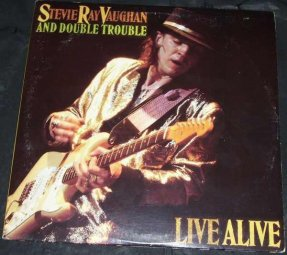 Vaughan, Stevie Ray and Double Trouble - Live Alive Vinyl LP