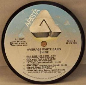 Average White Band - Shine Coaster