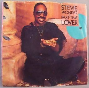 Wonder, Stevie - Part Time Lover Vinyl 45 7 W/PS