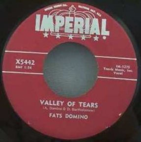 Domino, Fats - Valley Of Tears / It\'s You I Love Vinyl 45 7