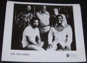 Crusaders - 8 X 10 ABC / Blue Thumb Records Photo