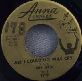 Tex, Joe - All I Could Do Was Cry Parts 1&2 Vinyl 45 7