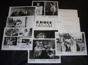 Eddie and The Cruisers Promo Press Kit W/Photos