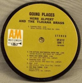 Alpert, Herb & The Tijuana Brass - Going Places Coaster