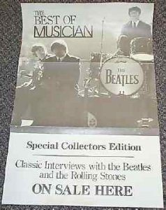 Beatles - Best Of Musician Promo Rock Poster