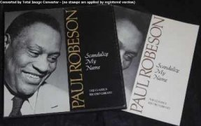 Robeson, Paul - Scandalize My Name Vinyl LP Box Set