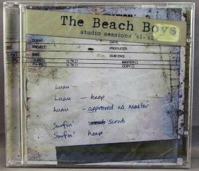 Beach Boys - Studio Sessions 61 - 62 CD Sealed UK Pressing
