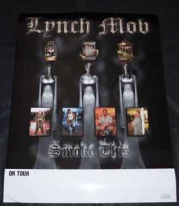 Lynch Mob - Smoke This Promo Poster