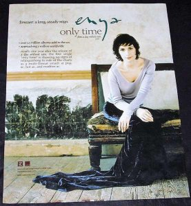 Enya - Only Time Billboard Trade Ad