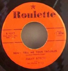 Bowen, Jimmy - Ever Since That Night / Don\'t Tell Me Your..45
