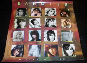 Bangles - Different Light 1985 Promo Poster