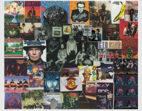 Classic Rock 1 Collage 8 X 10 Allman Brothers, Santana, CCR +