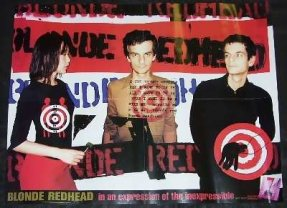 Blonde Redhead - In An Expression Of The Inexpressible Poster