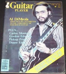 Guitar Player Magazine February 1978 Al DiMeola