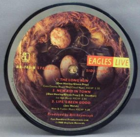 Eagles - Eagles Live Side 2 Coaster