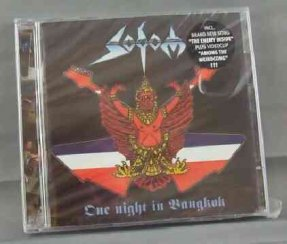 Sodom - One Night In Bangkok CD