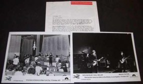 The Jam - This Is The Modern World 1977 Promo Press Kit W/Photos