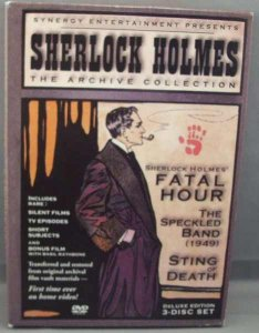 Sherlock Holmes The Archive Collection DVD Box Set