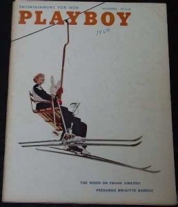 Playboy Magazine November 1958 Joan Staley / Brigitte Bardot