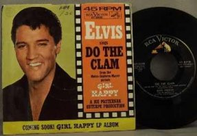 Presley, Elvis - Do The Clam / You\'ll Be Gone Vinyl 45 7 W/PS