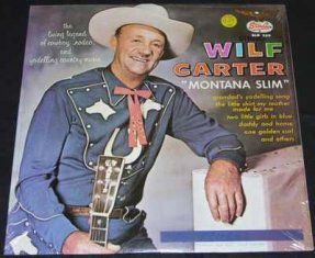 Carter, Wilf - Montana Slim Vinyl LP Sealed