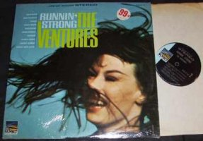Ventures - Runnin Strong Vinyl LP