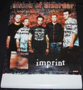 Vision Of Disorder - Imprint Promo Poster