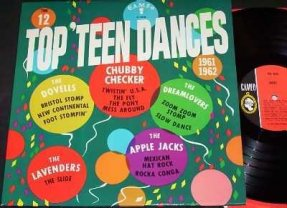 Various Artists - 12 Top Teen Dances Vinyl LP