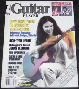 Guitar Player Magazine February 1985 W/Flexi-Disc