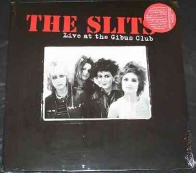 Slits - Live At The Gibus Club Vinyl LP