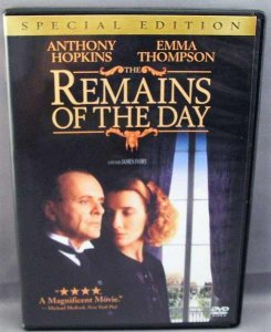 Remains Of The Day Special Edition DVD Anthony Hopkins