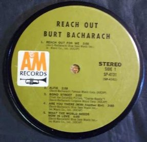 Bacharach, Burt - Reach Out Coaster
