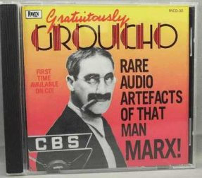Marx, Groucho - Gratuitously Groucho CD