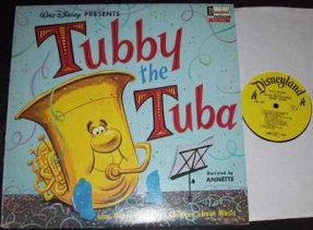Funicello, Annette - Tubby The Tuba Other Songs For Children..LP