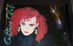 Culture Club - Waking Up with the House on Fire 1984 Pro Poster