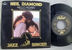 Diamond, Neil - Hello Again / Amazed and Confused Vinyl 45 W/PS