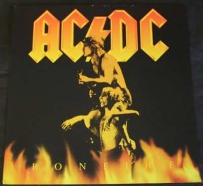 AC/DC - Bonfire Double Sided Promo Flat